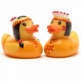 Anatra da bagno indiano coppia arancione - Bild vergrößern