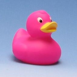 Paperella di gomma - rosa 8 cm